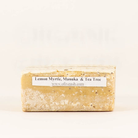 OLIVE&ASH SOAP LEMON MYRTLE SCRUB LOOSE