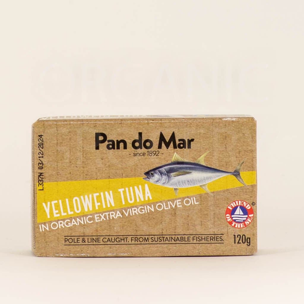 PAN DO MAR TUNA OLIVE OIL 120G