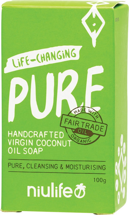 NIULIFE COCO SOAP UNSCENTED