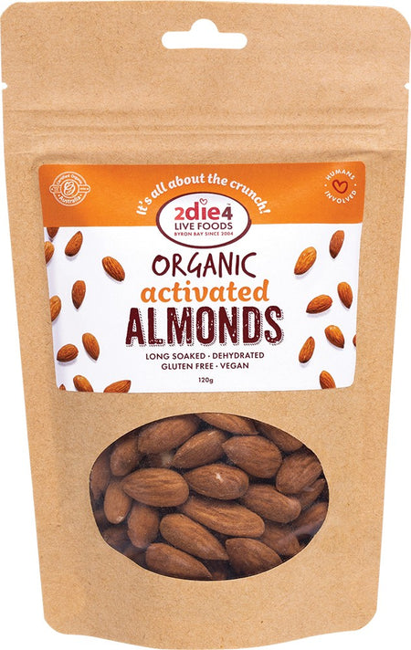 2DIE4 ALMONDS 120G