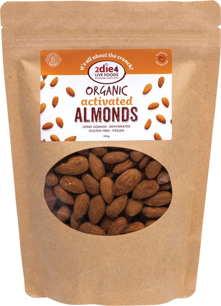 2DIE4 ACTIVATED ORGANIC ALMONDS 300G