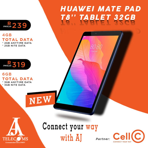 Cell C Tablets Aj Telecoms