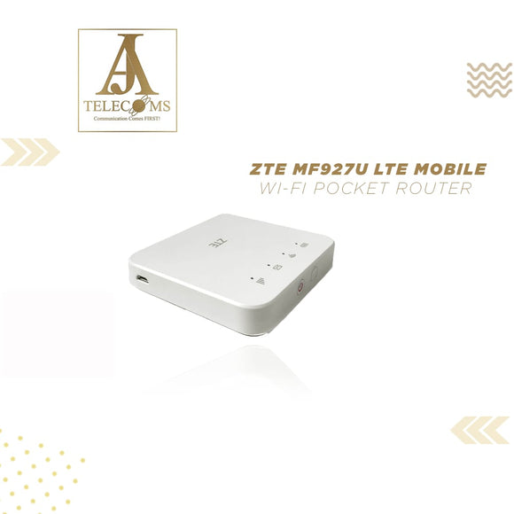 ZTE MF927U LTE Mobile Wi-Fi Pocket Router