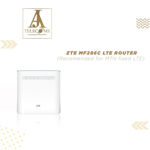 ZTE MF286C LTE Router (Recommended for MTN Fixed LTE)