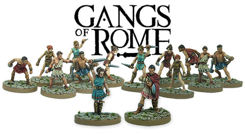 Gangs Of Rome available to Pre-order 1st December 2017