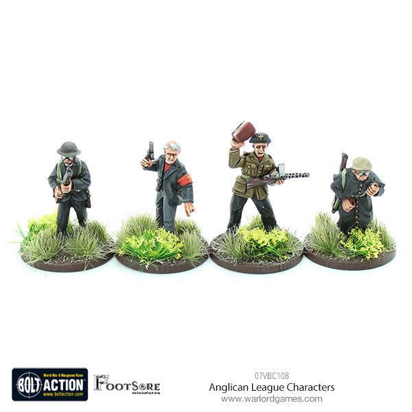 Anglican League Characters