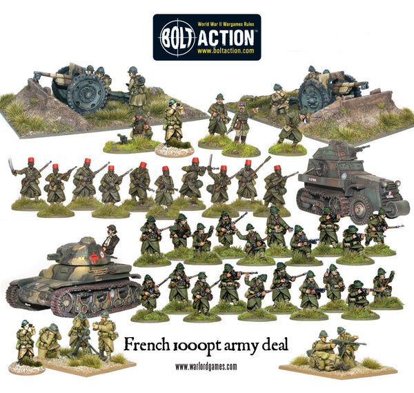 1000pts French Army