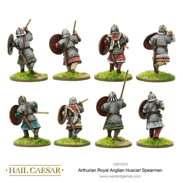 Arthurian Royal Anglian Huscarl spearmen