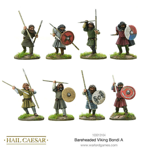 Bareheaded Viking Bondi A