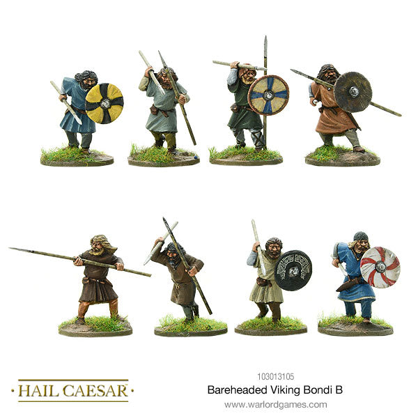 Bareheaded Viking Bondi B