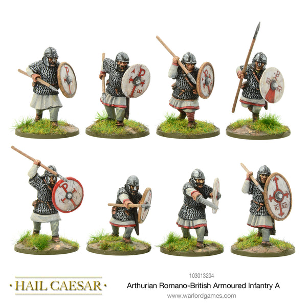 Arthurian Romano-British armoured infantry A