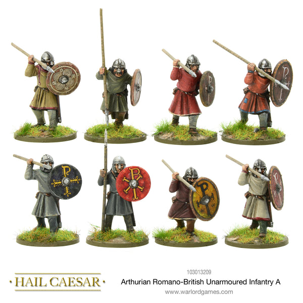 Arthurian Romano-British unarmoured infantry A