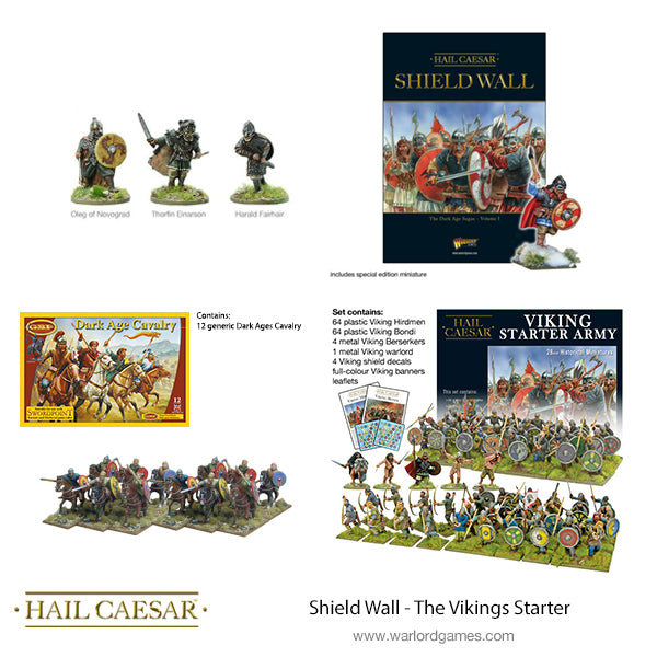 Shield Wall - The Vikings Starter