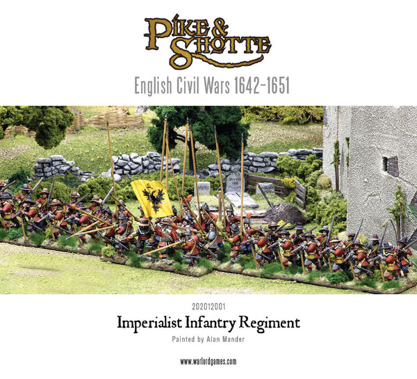 Imperialist Infantry Regiment boxed set