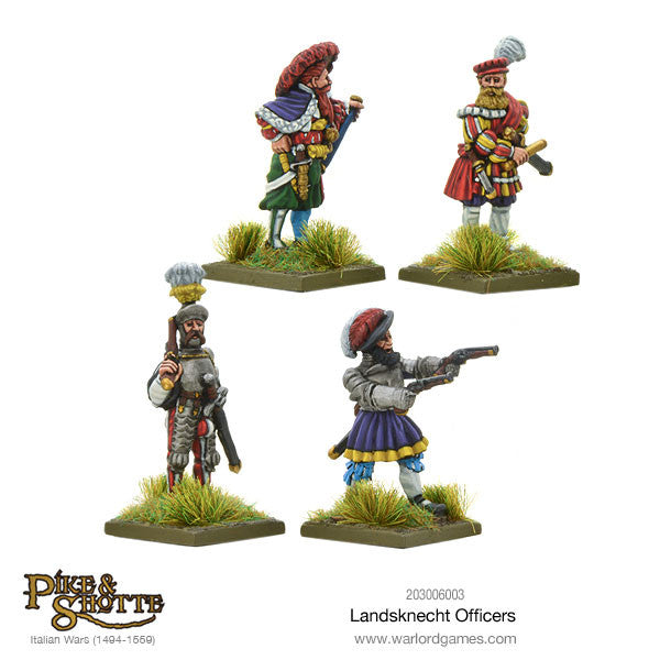 Landsknechts officers