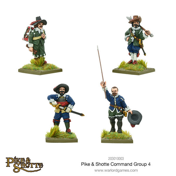 Pike & Shotte Command Group 4