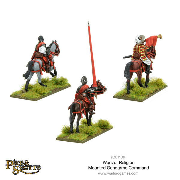 Wars of Religion Mounted Gendarme command