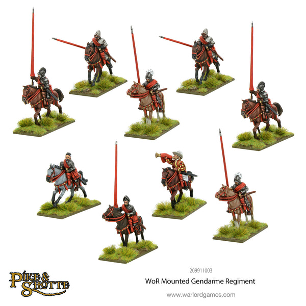 Wars of Religion Mounted Gendarme Regiment