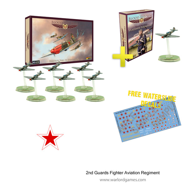 2nd Guards Fighter Aviation Regiment (Yakolev Yak 1-B)