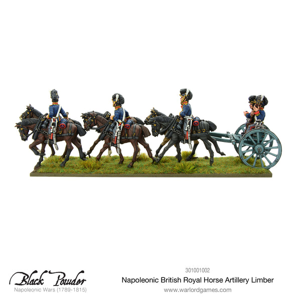 Royal Horse Artillery 6-pdr and Limber Team