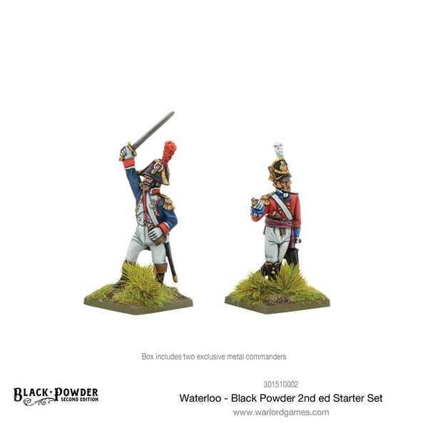 Waterloo - Black Powder 2nd edition Starter Set (German Edition)