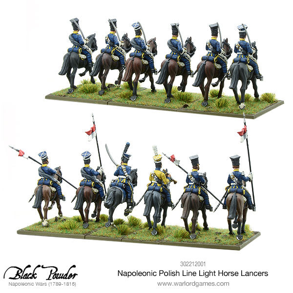 napoleonic polish line light horse lancers warlord games