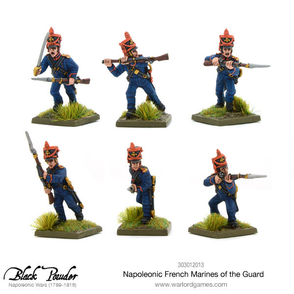 Napoleonic French Marines of the Guard