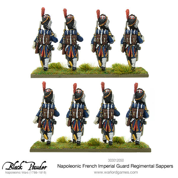Napoleonic French Imperial Guard Regimental Sappers