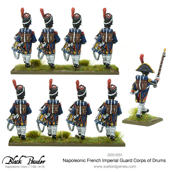 Napoleonic French Imperial Guard Corps of Drums