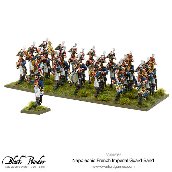Napoleonic French Imperial Guard Band Warlord Games