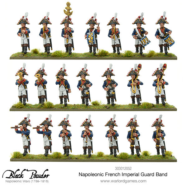 Napoleonic French Imperial Guard Band