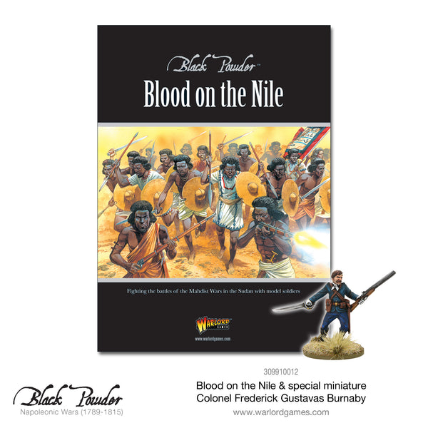 Blood on the Nile cover