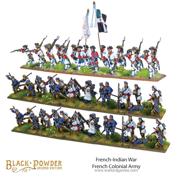 French Indian War French Colonial Army