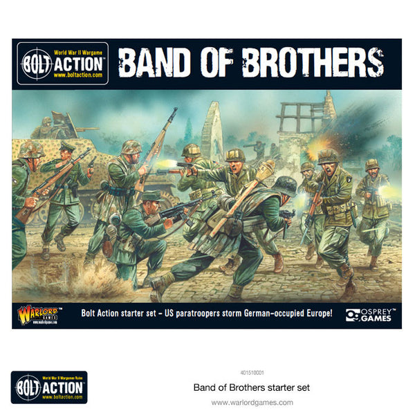 "Bolt Action 2 Starter Set ""Band of Brothers"" - Spanish"