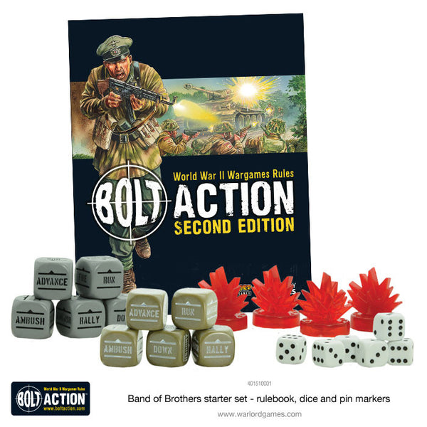 "Bolt Action 2 Starter Set ""Band of Brothers"" - German"