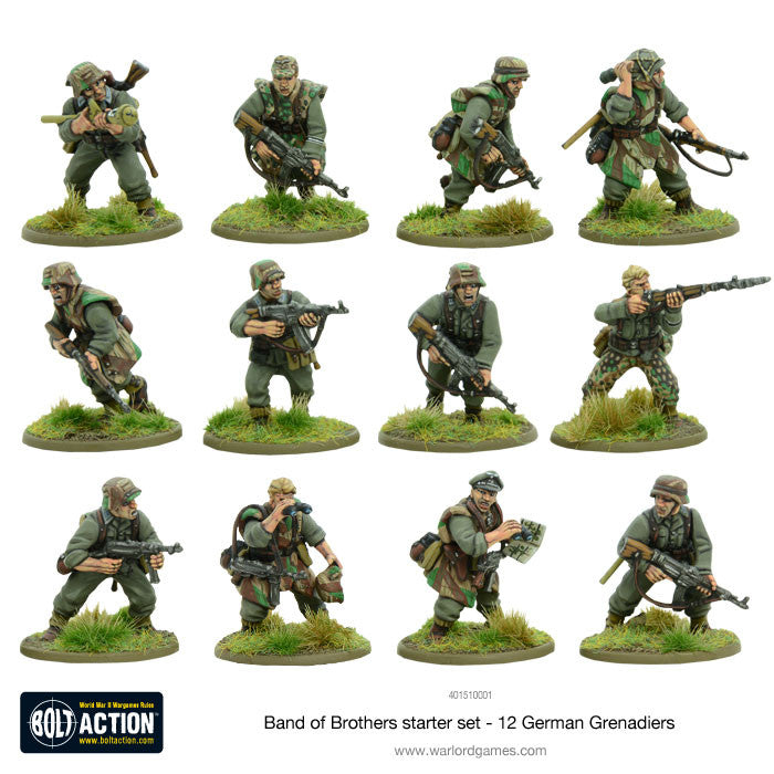 bolt action 2 starter set band of brothers warlord games