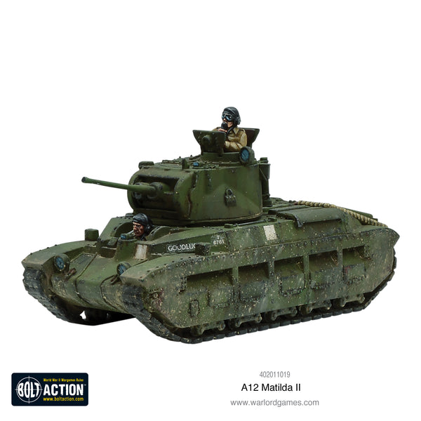 Matilda II troop