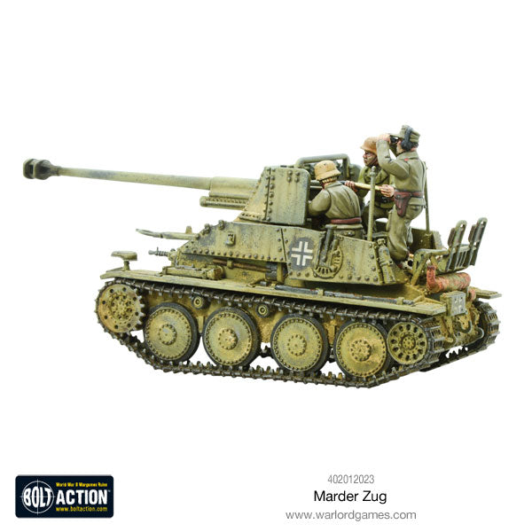 Marder tank destroyer Zug