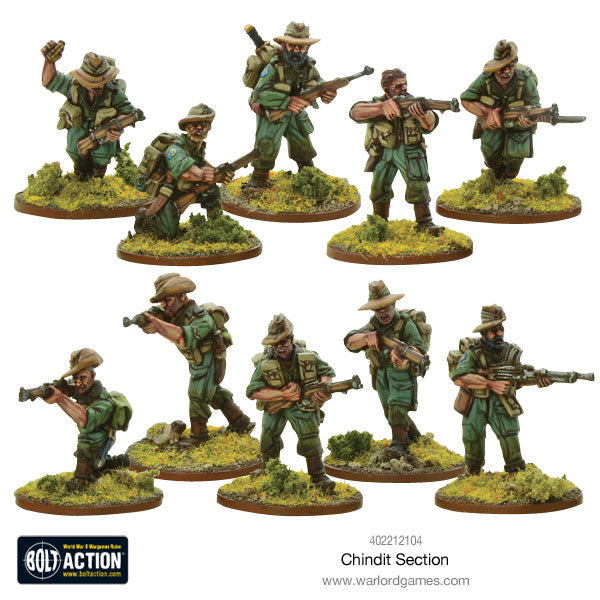 chindit section warlord games