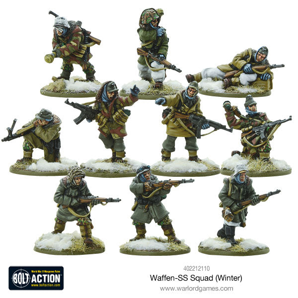 winter ss squad box warlord games