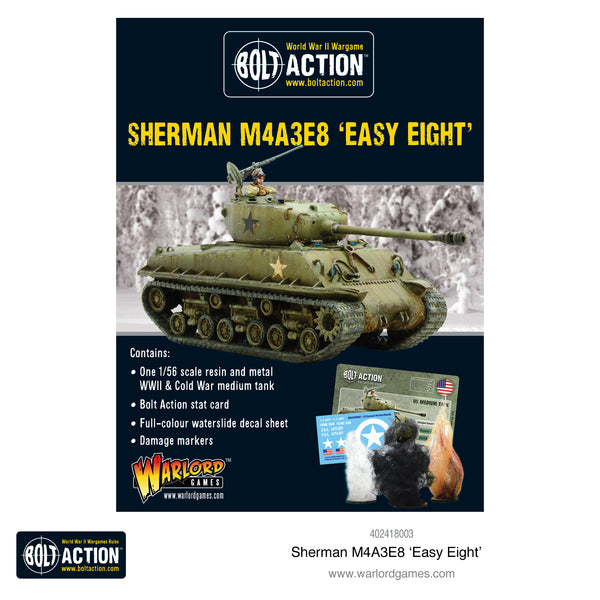 Sherman M4A3E8 'Easy Eight' - Warlord Games