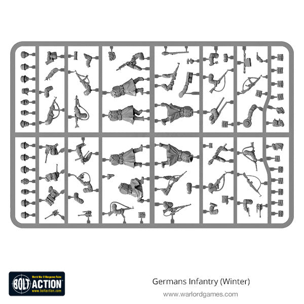 Germans Infantry (Winter) Plastic Frame