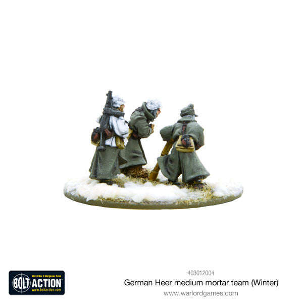 German Heer Medium Mortar team (Winter)