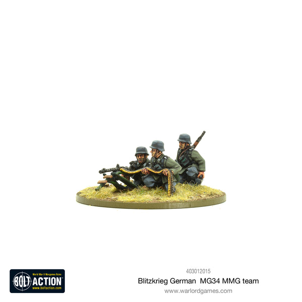 Blitzkrieg German MG34 MMG team (1939-42)