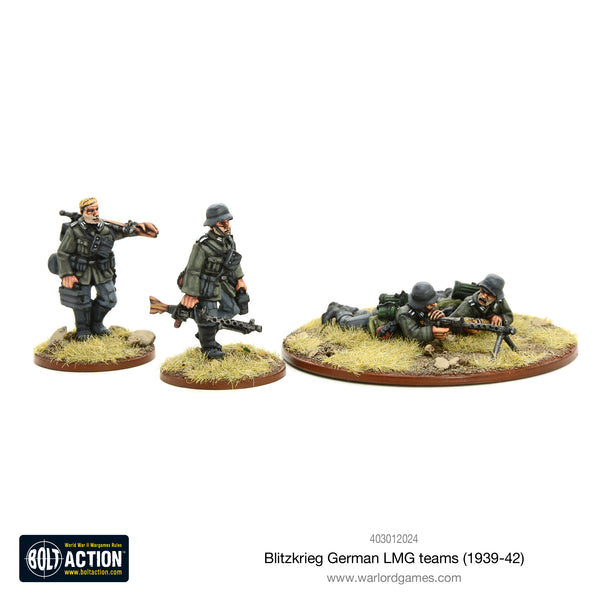 Blitzkrieg German LMG teams (1939-42)