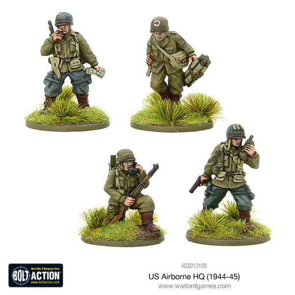 us airborne hq 1944 45 warlord games