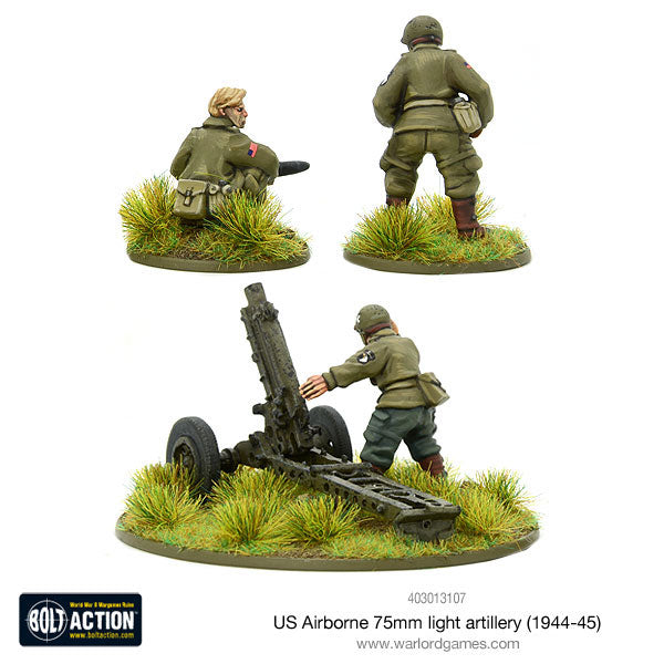 US Airborne 75mm light artillery (1944-45)