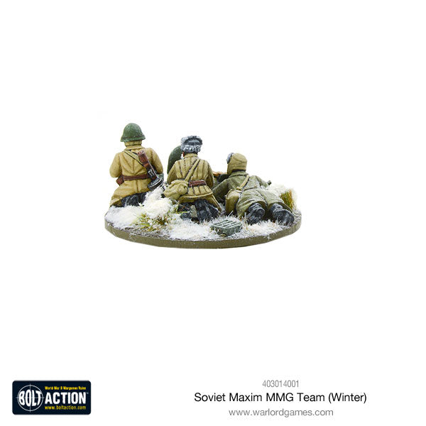 Soviet Maxim MMG team (Winter)
