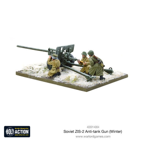 Soviet ZIS-2 anti-tank gun (Winter)