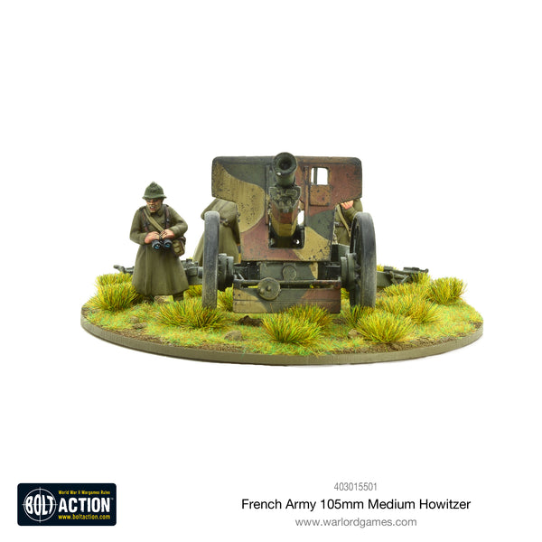 French Army 105mm medium howitzer